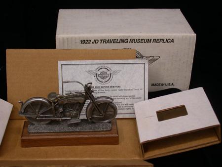 1922 JD Pewter Replica