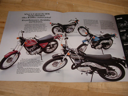 AMF HD 125CC to 250cc Motorcycles Brochure