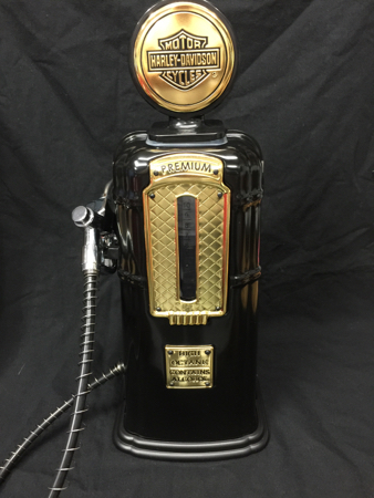 HD  Harley Davidson Gas Pump Decanter Liquor