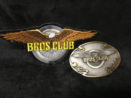 Easyriders Motorcycle Bros Club Buckle/patch