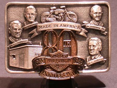 80th Anniversay Commemorative Buckle (Rare)