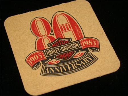 80th Anniversary Coaster