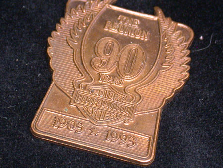 The Reunion 90th Anniversary Medallion