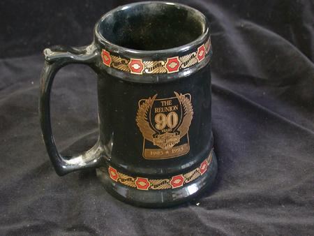 Harley Davidson 90th anniversary Mug