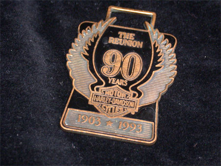 90th Anniversary Numbered Fob