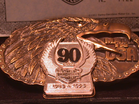 90th Anniversary (Small Belt Buckle)