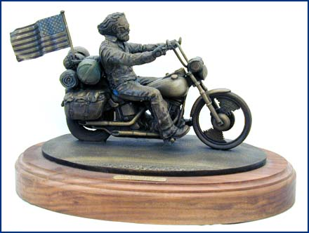 1994 Bronze Milwaukee Ride Sculpture #14