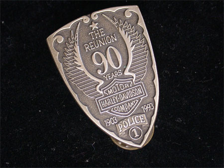 Harley Davidson Police 90th Anniversary Pin