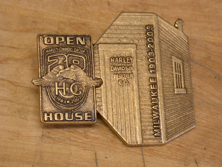 20TH HOG / 100TH ANNIVERSARY HARLEY PIN