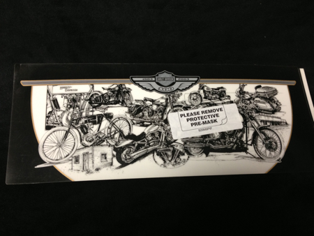 Harley Davidson Small 100th Anniversary Decal