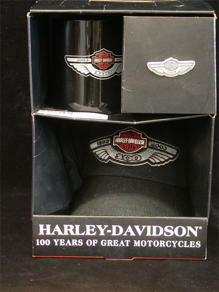 Harley Logo 100th Anniversary Party Pack