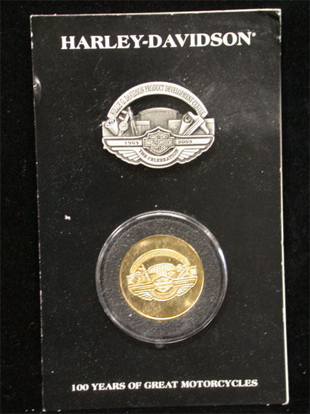100th Anniversary Willie G Pin and Coin