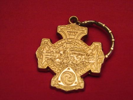 1987 Commemorative Gypsy Tour Key Ring
