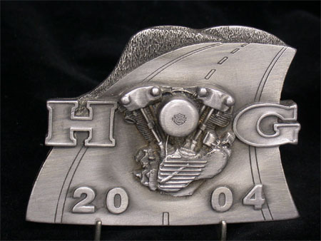2004 Harley Owners Group Appreciation Plaque