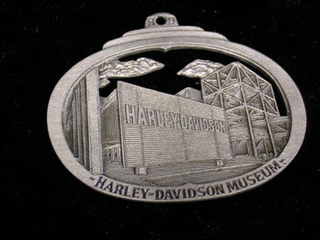 Harley Davidson Pewter Museum Ornament