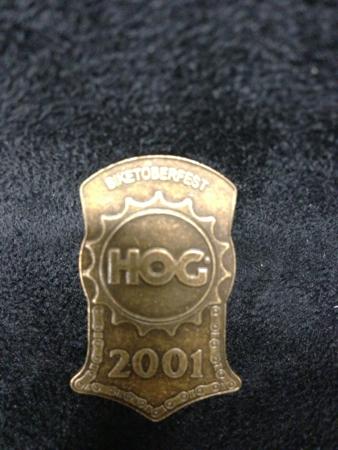 HOG 2001 Biketoberfest Daytona Pin
