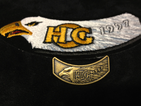 HOG 1997 PATCH AND PIN