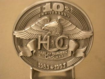 10th Hog  Medallion