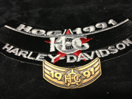 HOG 1991 PATCH AND PIN