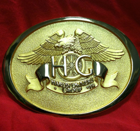 HARLEY OWNERS GROUP 1983 BUCKLE