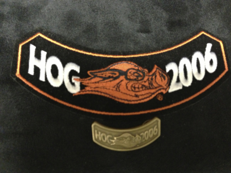 HOG 2006 PATCH AND PIN