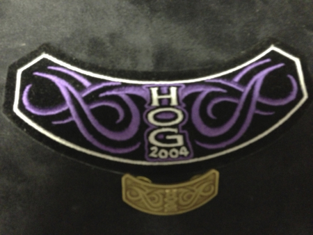 HOG 2004 PATCH AND PIN