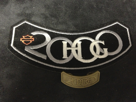 HOG 2000 PATCH AND PIN