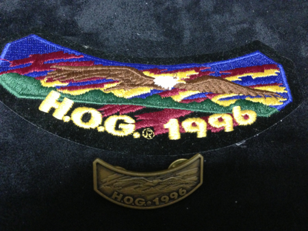 HOG 1996  PATCH AND PIN