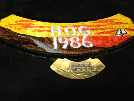 HOG 1886 PATCH AND PIN