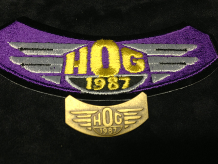 HOG 1887 PATCH AND PIN