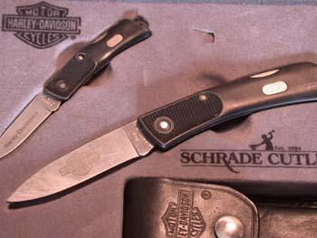 Schrade Cutlery Harley-Davidson 2 knife gift