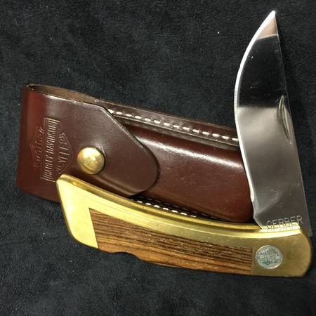 Harley Davidosn Vintage Gerber Knife