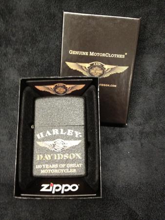 110 Anniversary HD Zippo