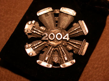 Harley owners Group Ornament  2004