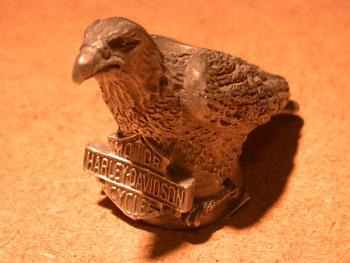 Harley Davidson Pewter Eagle Candle holder