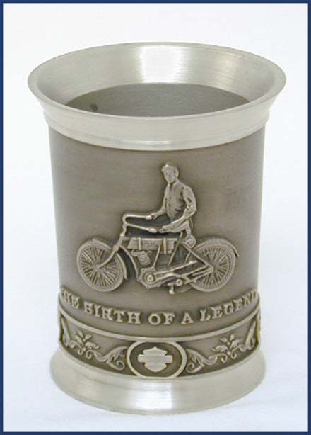 1900 Legend Pewter Shot Glass