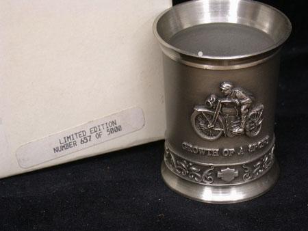 1910 Pewter Shot Glass