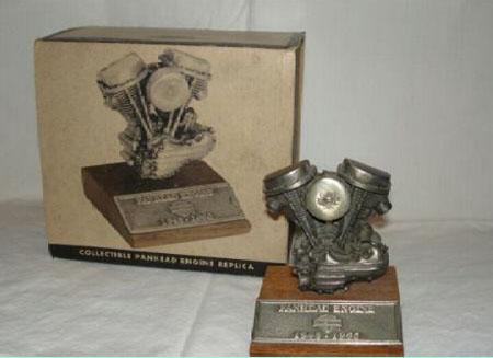 Panhead Pewter Engine (RARE)