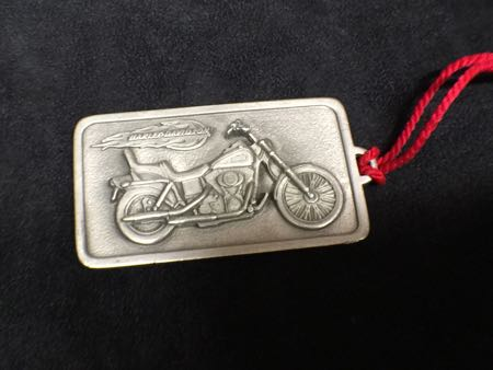 Harley Davidson Pewter Xmas Ornament