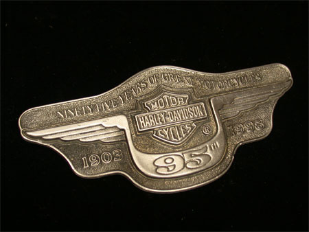 95th Anniversary Snapon pewter Medallion