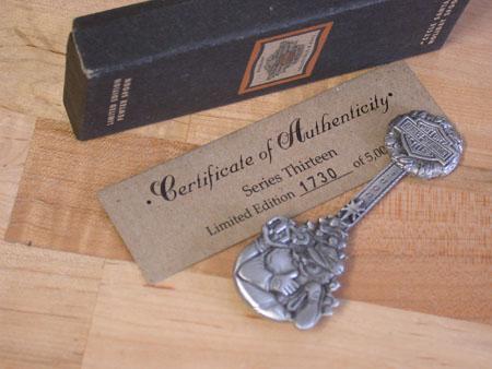 2000 Pewter Chitmas spoon