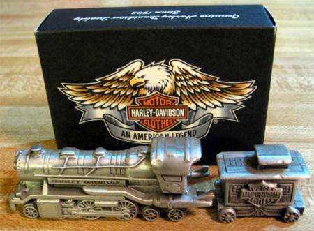HARLEY PEWTER TRAIN STARTER SET~97983-02Z