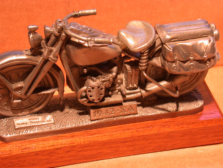 1942 XA Traveling Pewter Replica