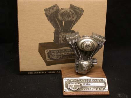 Twin Cam Pewter Motor