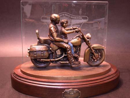 95th Anniversary Bronze statue