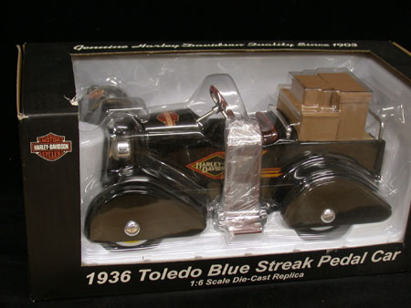 1936 Toledo Blue Sreak Pedal Car