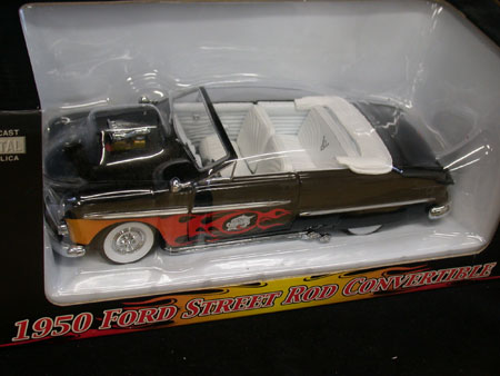 1:24 1950 Ford Street Rod Convertible