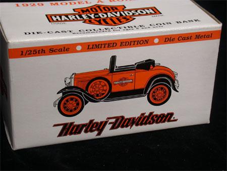 1929 Model A Roadster Harley Davidson Bank