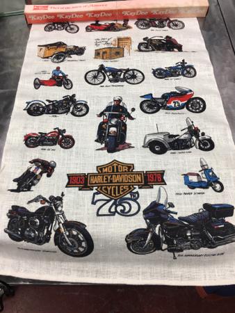 Harley Davidson 75th Anniversary Banner