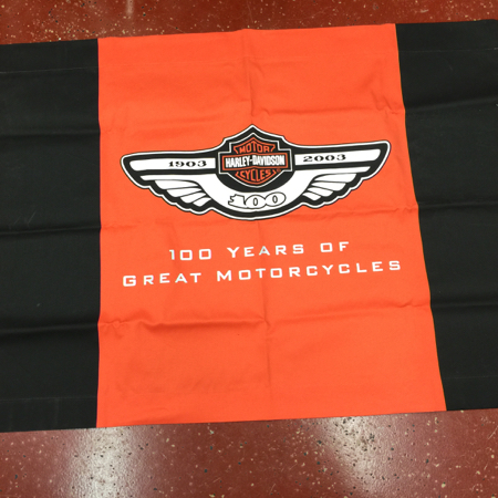 100th Anniversary Nylon Dealer Banner